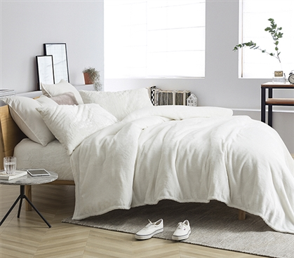 Me Sooo Comfy Twin XL Sheet Set - Farmhouse White