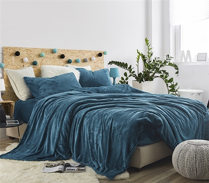 Me Sooo Comfy Twin XL Sheet Set - Ocean Depths Teal
