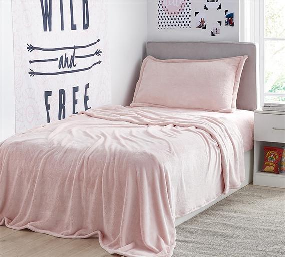 Pretty Rose Quartz Twin Xl Sheets Cozy