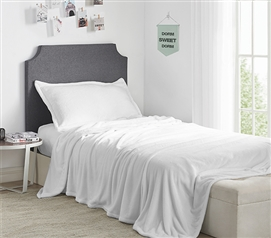 Me Sooo Comfy Twin XL Sheet Set - White