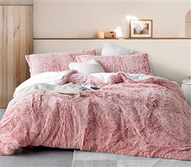 Are You Kidding - Coma Inducer Twin XL Comforter - Frosted Adobe Brick