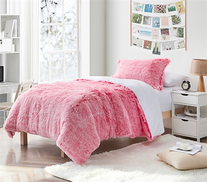 Are You Kidding - Coma Inducer Twin XL Comforter - Frosted Intensity Pink
