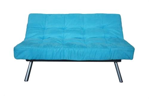 The College Cozy Sofa (Mini Futon)   Aqua