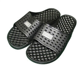 Anti-Slip Men's Shower Sandal (The Original Drainage Hole Sandal) - Must Have Supplies For College Guys