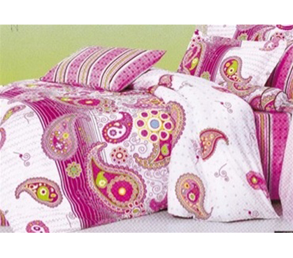 Extra long college bedding in high style and high quality in Pink