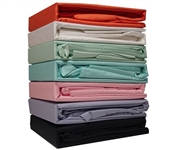 Bedding For College - 300TC Cotton Twin XL College Sheets - College Ave - Make Dorm Bed Comfortable