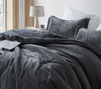 Chunky Bunny - Coma Inducer Twin XL Comforter - Faded Black - Limited Release