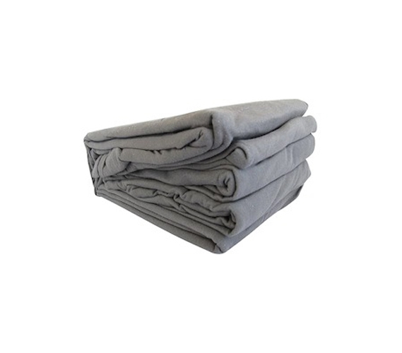 college jersey knit twin xl sheets gray