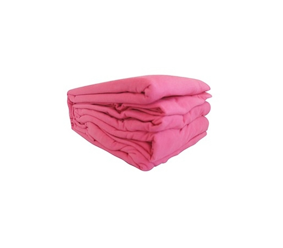 College Jersey Knit Twin Xl Sheets Cherry Pink Dorm Bedding