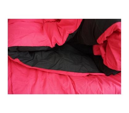 Black Cherry Pink Reversible College Comforter Twin Xl