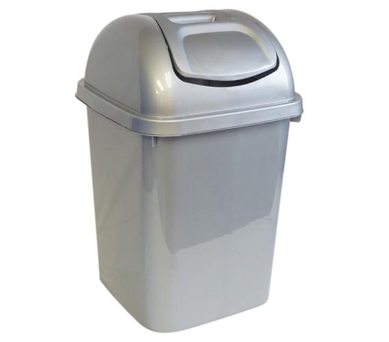 recycling metallicmezzocanbrnz swing gal mezzo can metallic s umbra bronze the wastebaskets xl trash lid by