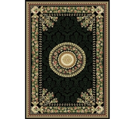 Black Optimum Rug College dorm room ideas