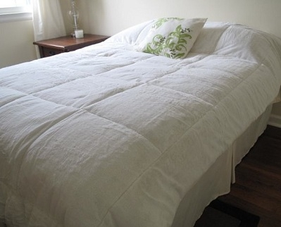 College Plush Comforter Pure White Twin Xl Dorm