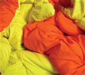 Switch College Bedding Color Every Week - Orange/Yellow Reversible College Comforter - Twin XL