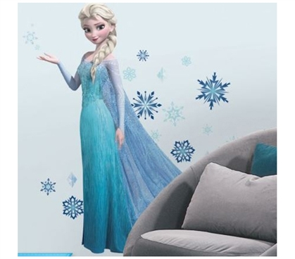 Peel N Stick - Frozen Elsa Giant Decals