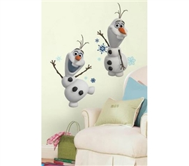 Peel N Stick - Frozen Olaf The Snowman Decals
