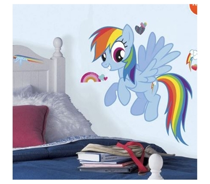 Peel N Stick - My Little Pony Rainbow Dash Decals
