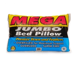Feather And Down Mega Jumbo Pillow
