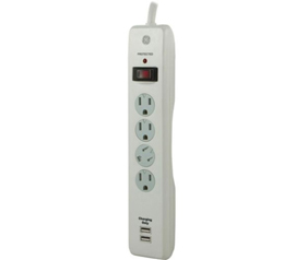 Surge Protector Strip With USB Ports