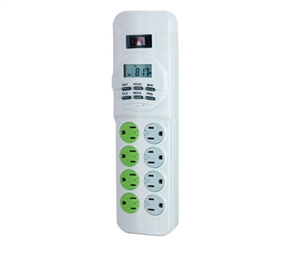 Energy Saving 8-Outlet Surge Protector
