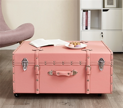 Texture® Brand Trunk - Darkened Rose Quartz