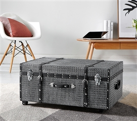 Texture® Brand Trunk - Gray Nickel