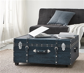 Texture® Brand Trunk - Marble Navy