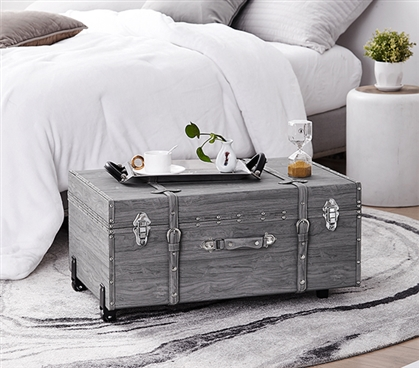 Texture® Brand Trunk - Marble Gray Oak
