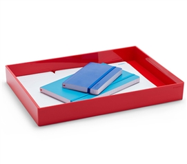 Accessory Tray - Large - Red