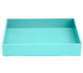 Accessory Tray - Medium - Aqua Dorm Organizers Dorm Room Storage Dorm Essentials