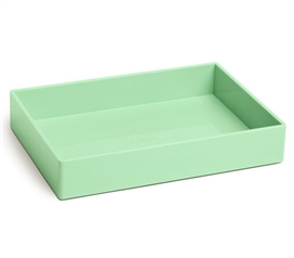 Accessory Tray - Medium - Mint Dorm Essentials Dorm Supplies Dorm Room Decor