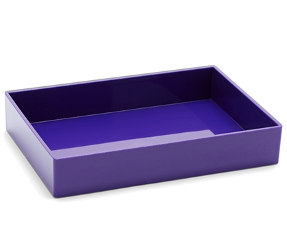 Accessory Tray - Medium - Purple Dorm Organization Dorm Room Decor