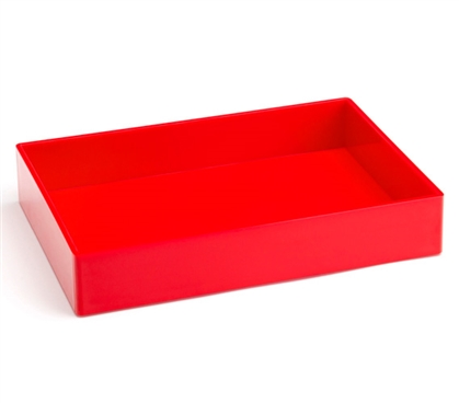 Accessory Tray - Medium - Red Dorm Organization Dorm Storage Solutions