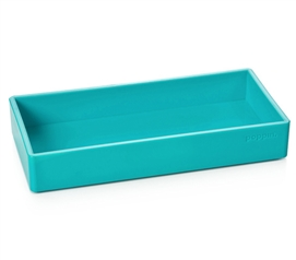 Accessory Tray - Small - Aqua Dorm Room Decor Dorm Organization