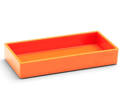 Accessory Tray - Small - Orange College Supplies Must Have Dorm Items