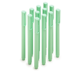 Ballpoint Pens - Set of 12 - Mint