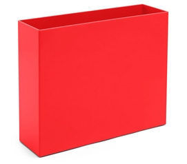 File Box - Red College Supplies Dorm Room Decor Dorm Storage Solutions