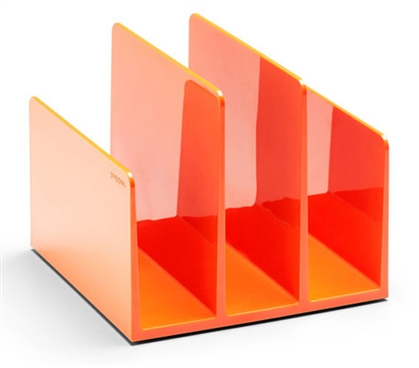 Fin File Organizer - Orange