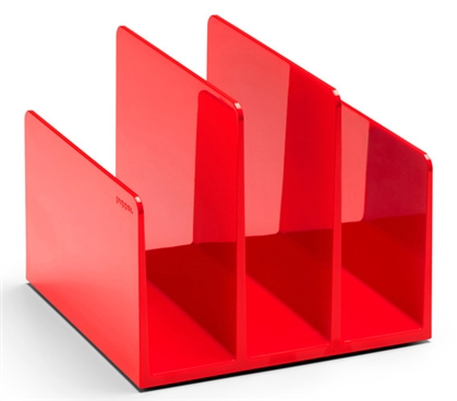 Fin File Organizer - Red