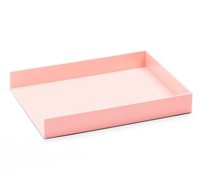 Single Letter Tray - Blush