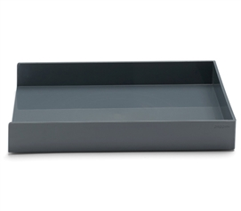 Single Letter Tray - Dark Gray