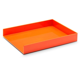 Single Letter Tray - Orange