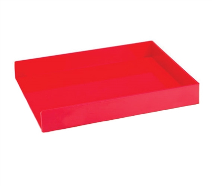 Single Letter Tray - Red