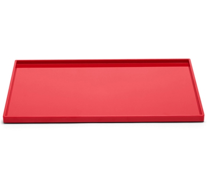 Slim Tray - Large - Red