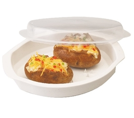 College Cooking Supplies Microwave Potato Cooker Must Have Dorm Items