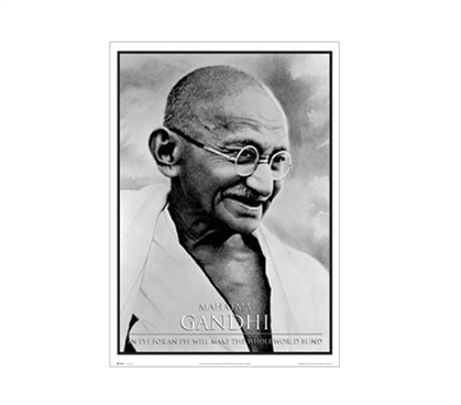 Gandhi College Poster Wall Decorations for Dorms College Wall Decor Must Have Dorm Items
