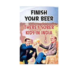 Finish Your Beer Poster for Dorm Rooms Dorm Room Decorations Wall Decorations for Dorms