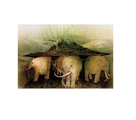 Elephant World College Poster Must Have Dorm Items College Wall Decor