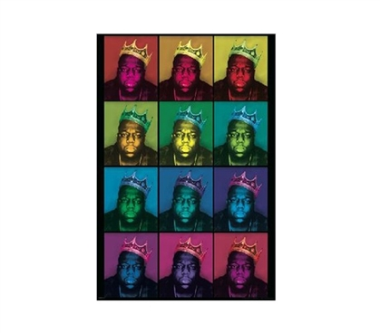 Notorious Big Pop Art Dorm Room Poster Dorm Room Decorations Wall Decorations for Dorms
