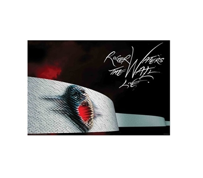 College Wall Decor - Roger Waters The Wall Live Poster - Great Dorm Stuff